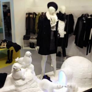 Vetrina invernale Wanda Boutique