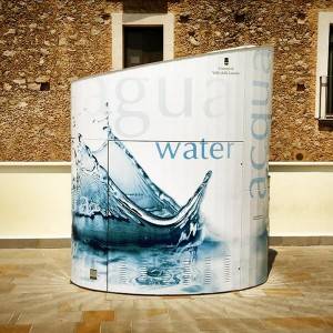 "Wrapping ""Fontanino dell'acqua"""