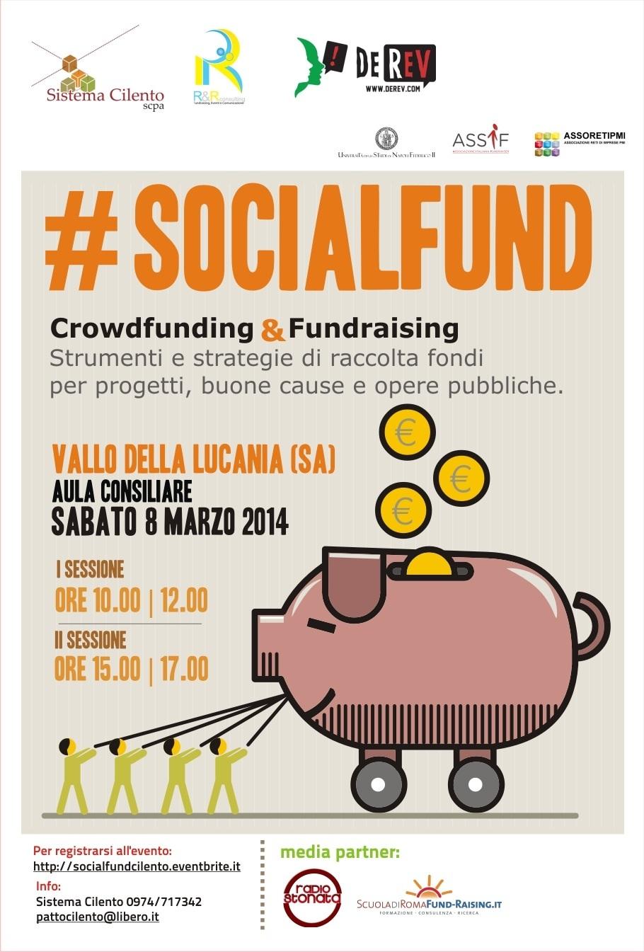 #socialfund Vallo della Lucania