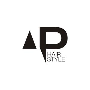 Logo identity Antonio Piano hair style